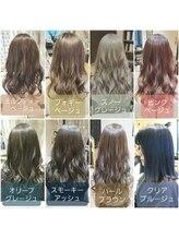 ヘアーアンドメイク カッシィ(hair&make cassie)Nドットカラーは圧倒的透明感☆