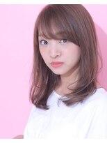 ジーナシンジュク(Zina SHINJYUKU)☆Zina☆スタイリング楽チンのセミロングレイヤー♪