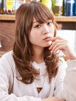 モニカ 横須賀中央店(Monica)可愛さしかない柔らかさ☆セミロング×波ウェーブ【横須賀中央】