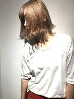 チクロヘアー(Ticro hair)【チクロ大石】ブロンドボブ