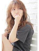 ヘアーアンジェ グロウ 武蔵小杉店(Hair ange grow)【Hair ange grow】 ショートバング×ミルクティーカラー