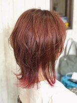 カイナル 関内店(hair design kainalu by kahuna)ドライヴカット×裾カラー