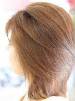 アクラ 伊奈店(acra)の写真/ダメージレスにこだわったカラーを多数ご用意!頭皮に優しく潤う毛先で、ワンランク上の仕上がりに♪