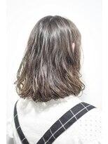 【miel hair blanc】ラフ感♪濡れ髪パーマスタイル☆
