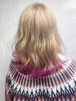 ユイマァルオアシス 倉敷店(YUIMARL OASIS)ピンク裾カラー♪