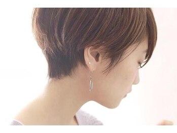 ヴァン カウンシル 津島店(VAN COUNCIL)の写真/ショートスタイルこそ、女性らしいデザインに。髪質・骨格に合わせて再現性の高いスタイルをご提案します!!