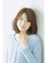 エイミーバイアフロート(amie by afloat)ワンカールロブ☆大人可愛い素敵シルエット☆