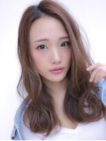 《Agu hair》トレンド感★ラフウェーブミディ
