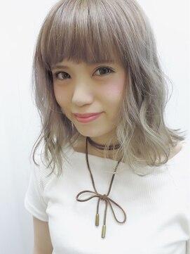 マーズ(Hair salon Mars)ほんのりピンクなクリーミーアッシュ