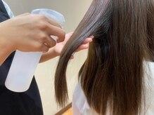 薬剤塗布前の準備が大切! 『電子トリートメント』での髪ケアを。