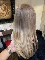 ボアップ(boappu)髪質改善 インナーカラー イルミナカラー ケアブリーチ