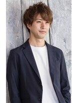 ロンド レグリーズ 立川(Lond leglise)【槌矢圭悟】男のカラーも透明感ベージュ×ボリュームパーマ