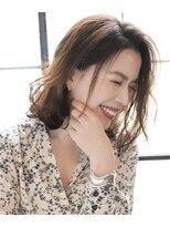 ルージュ(Rouge)【米倉和寿】溢れ出る笑顔 かわいさ外ハネレイヤー