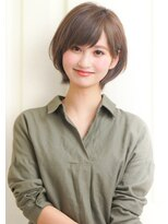 【rue京都】大人かわいい ふんわりナチュラル☆小顔ショートボブ