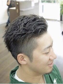 ライフ ヘアー(LiFe HAIR)の写真/【堺駅徒歩4分】経験豊富なスタイリストだから傷みの気になるパーマもおまかせ!旬カラー×パーマもぜひ♪