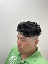 大阪チャンピオンの店 ヘアサロンスタイル(Hair Salon Style)フェードパーマ