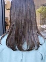 ヘアーアイスカルテット(HAIR ICI QUARTET)rena◯オリーブベージュ透明感、艶カラー