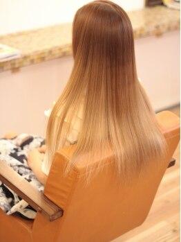 レアリス ヘアーデザイン(REALIS hair design)の写真/【ブリ-チカラ-+トリートメント¥8000】お得に賢く可愛くイメチェン★最旬トレンドカラ-を先取りしよう◎