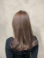 サロンドミルク 原宿(salon de MiLK)ナチュラルハイトーンブラウン 髪質改善
