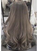 ヘアーサロン ドットトウキョウ カラー(hair salon dot.tokyo color)ラベンダーアッシュグラデーション