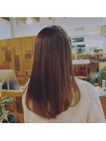 ファーレ fareファーレ得意の縮毛矯正スタイル