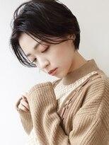 ノイ(noi)#noi_style 黒髪ハンサムショート