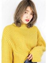 ヘアサロンガリカアオヤマ(hair salon Gallica aoyama)☆『 ミルクティーベージュ & 毛束感 』 ☆ セミウェット ♪
