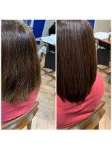 【美髪】に向けて徹底的に髪質改善出来るノンアルカリ酸熱「サブリミックトリートメント」!!