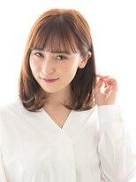 ヘアーサロン ラフリジー(Loufreasy)【髪質改善】酸熱水素トリートメント×ミルクティーべージュボブ