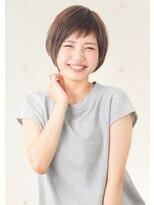 アドラーブル 女池店(adorable)大人丸みshortボブ【インナーカラー/イルミナカラー/白髪染め】