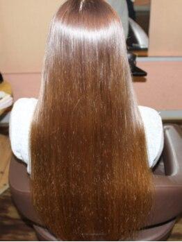 ヘアークラブユニオン(HairClubUNION)の写真/こだわり◎サロン独自のシステムトリートメントを使用!!髪の芯まで浸透し、潤いたっぷりの美髪に♪