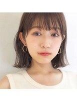 ガーデン アオヤマ(GARDEN aoyama)豊田楓 外ハネ 髪質改善 艶カラー 小顔 大人かわいい