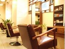 グラソリエント 六甲店(Grasolient)の雰囲気(~Styling Chair~座り心地のいいソファー椅子で綺麗磨きの時間)