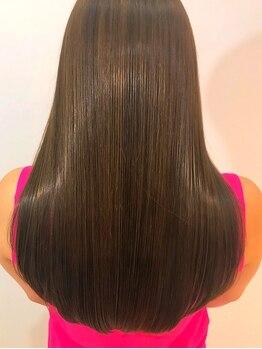 アーバン(URBAN.)の写真/【名駅5分】最高級トリートメントAujua導入salon♪あなたに一番フィットするケアで褒められ美髪に◎