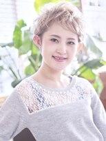 コケティッシュ★美★シルエットショートヘア