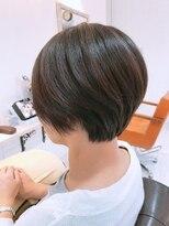 ルルカ ヘアサロン(LuLuca Hair Salon)LuLucaお客様☆スナップ 流れとまとまりショート