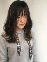 ヘアメイク オブジェ(hair make objet)グレージュインナーカラー KAI