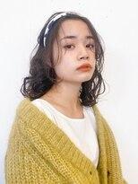 マグノリア オモテサンドウ(MAGNOLiA Omotesando)ゆるめのスパイラルパーマアレンジ・・・YOSHIBA
