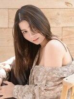 オーブ ヘアー マックイーン 流山店(AUBE HAIR McQueen)【AUBE HAIR】髪質改善×フェザーバング_ストレートヘア