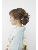 ヘアセットサロン パスクア(Hair Set Salon Pasqua)和洋装 訪問着スタイル