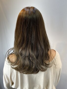 フレア ヘア サロン(FLEAR hair salon)ツヤ感ミルクティー☆