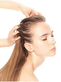 ヘア メルト(Hair Melt)の写真/【ヘッドスパ専用ブースご用意☆】育毛促進効果◎癒しのマッサージで頭皮の汚れをしっかり洗浄♪