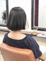 エトネ ヘアーサロン 仙台駅前(eTONe hair salon)【eTONe】ナチュラルストレートボブ