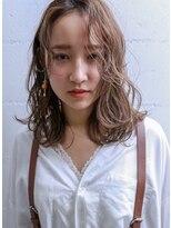 バッテリー ヘアアンドメイク 御幣島店(Battery hair&make)ニュアンスカール