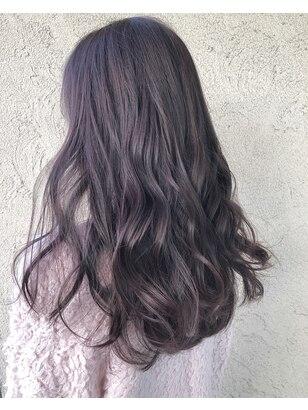 2020年冬】パープルの髪型・ヘアアレンジ|人気順