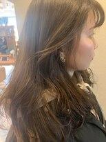 ロンドフルール 大宮東口(Lond fleur)【Lond fleur 石畑結華】顔周りレイヤーうぶヘアー