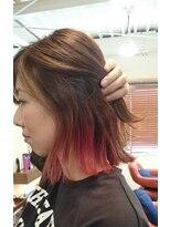 ヘアーメイク プリュム(Hair make Plume)インナーカラー