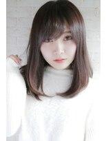 フロム(from...)★手グシでおさまるナチュラルストレート★