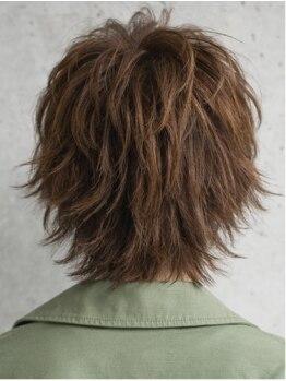 縮毛矯正専門店 ヘアブロンズ(hair Bronze)の写真/ショートスタイルに自信あり♪【この長さでやるの??】も可能!毛先を遊ばせたスタイルなど自由自在☆