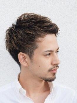 イツキ ヘアーデザイン(ITSUKI hair design)の写真/メンズのためのカット技術!!骨格・髪質に合わせてスタイリッシュなスタイルを作るスタイリストがいます!!